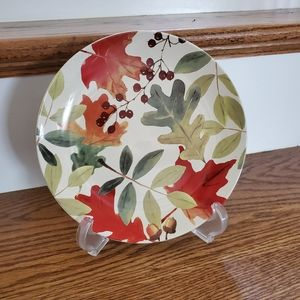 Fall Thanksgiving Decorative Plate